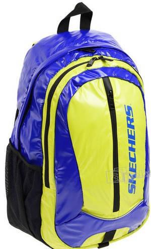 Яркий спортивный рюкзак 19 л. Skechers Olympia 70802;18 салатовый с синим