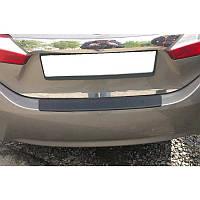 Накладка на бампер Toyota Corolla с 2013-