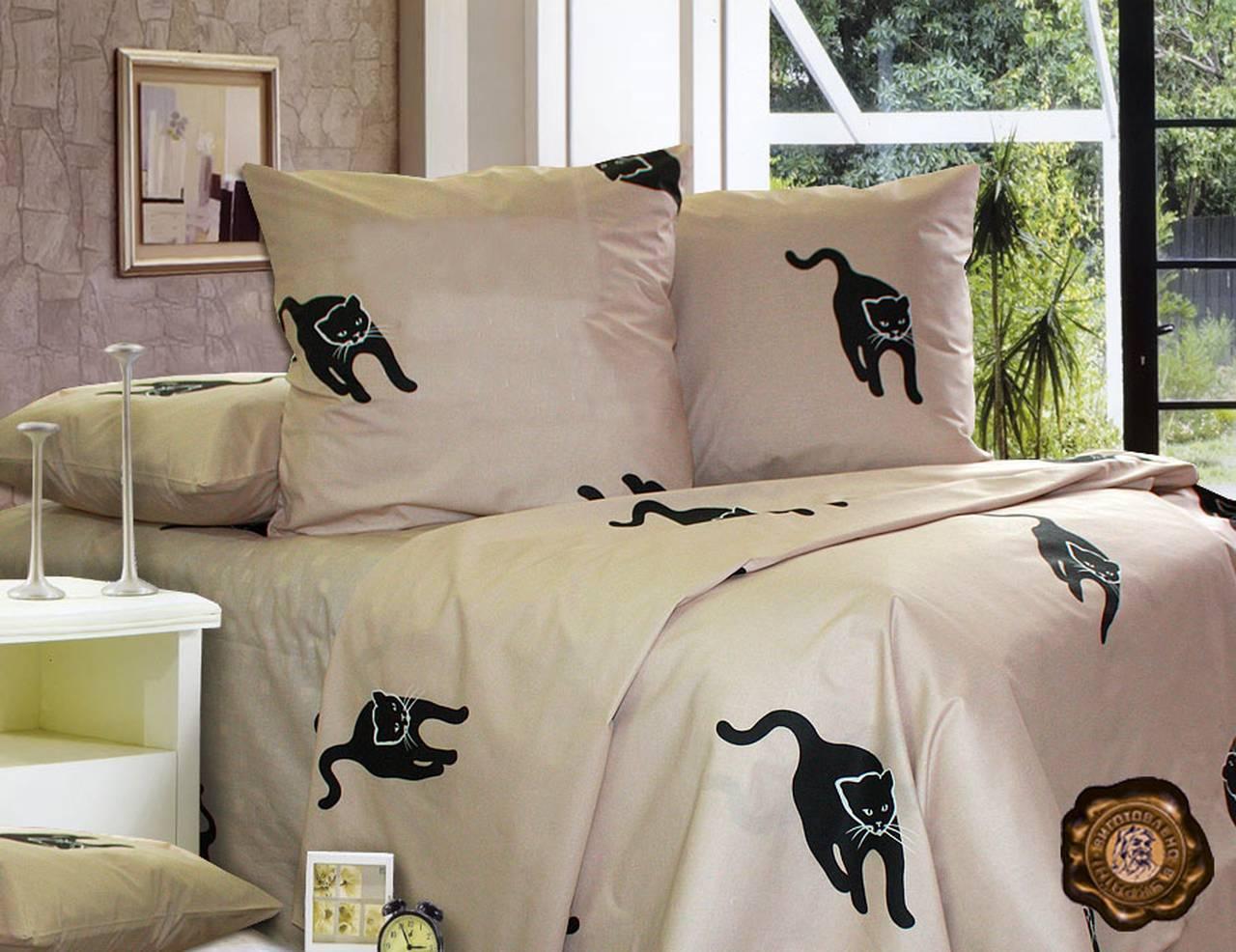Комплект постельного белья Евро, Бязь-100% хлопок (2-х сп.ЕТ0191)