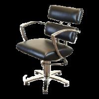 Кресло парикмахерское 6513bl черное