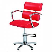 Кресло парикмахерское 6513bl черное, фото 2