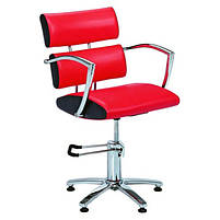 Кресло парикмахерское 6513bl черное, фото 4