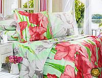 Комплект постельного белья Евро, Бязь-100% хлопок (2-х сп.ЕТ0561)