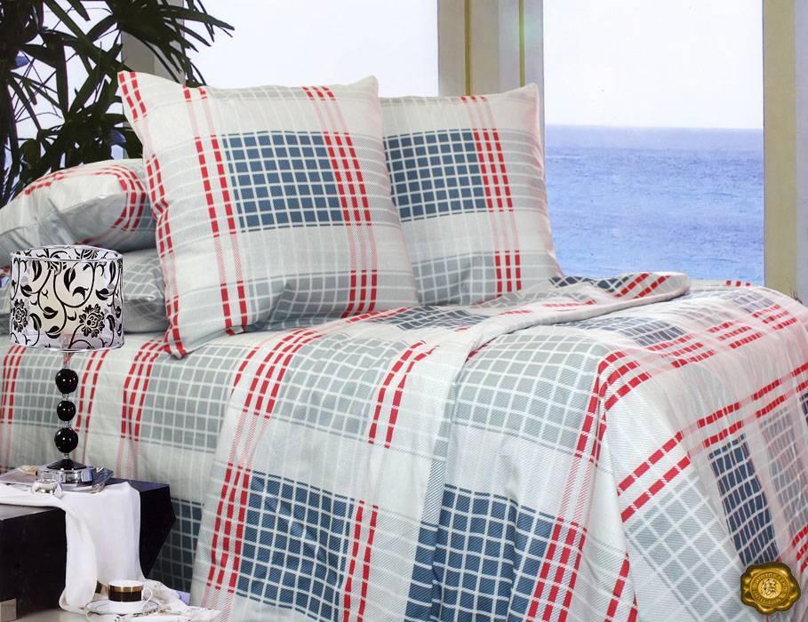 Комплект постельного белья Двуспальный, Бязь-100% хлопок (2-х сп.ЕТ0599)