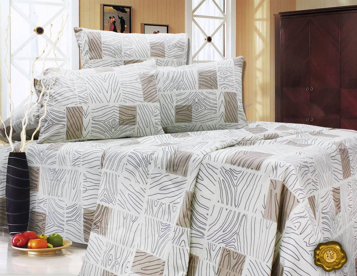 Комплект постельного белья Двуспальный, Бязь-100% хлопок (2-х сп.ЕТ0601)