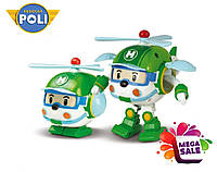 Машинка-трансформер вертолет Хели (Хэлли) Robocar Poli/Робокар Поли: 10 см