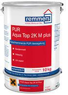 2-компонентный полиуретановый запечатывающий противоскользящий лак PUR AQUA TOP 2K M PLUS