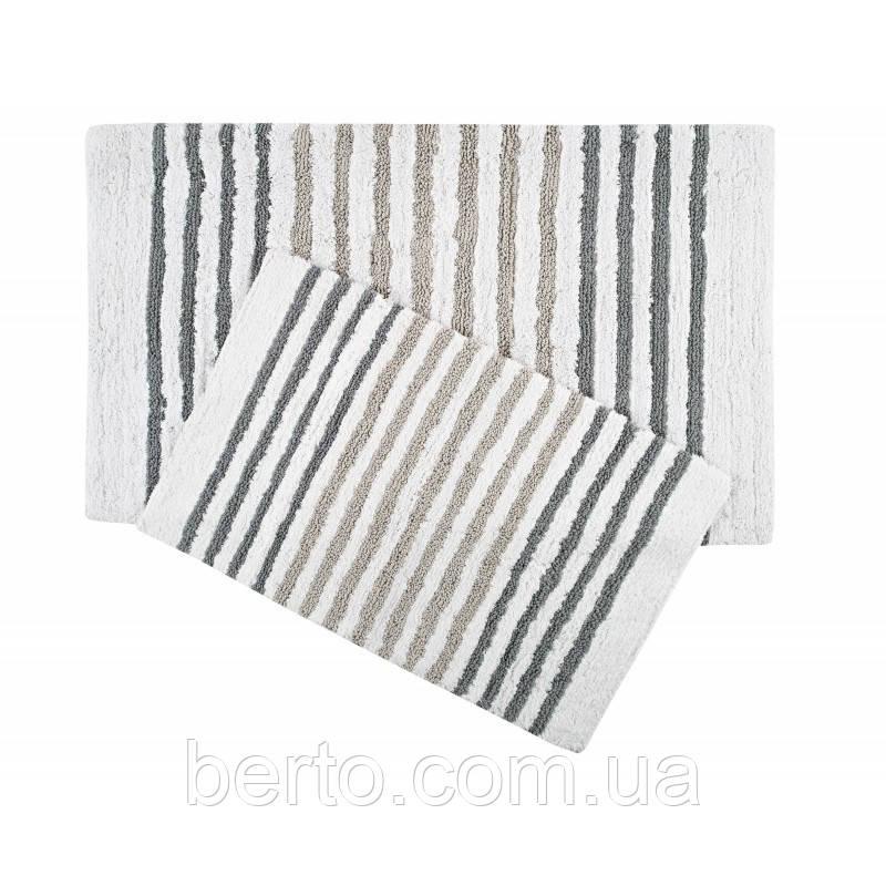 Набор ковриков для ванной комнаты Irya - Grenada серый (70*115 + 55*80)