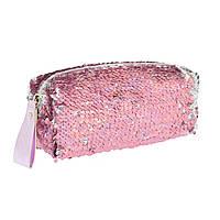 Пенал-косметичка GP-01 ''Pink Sequins'', фото 1