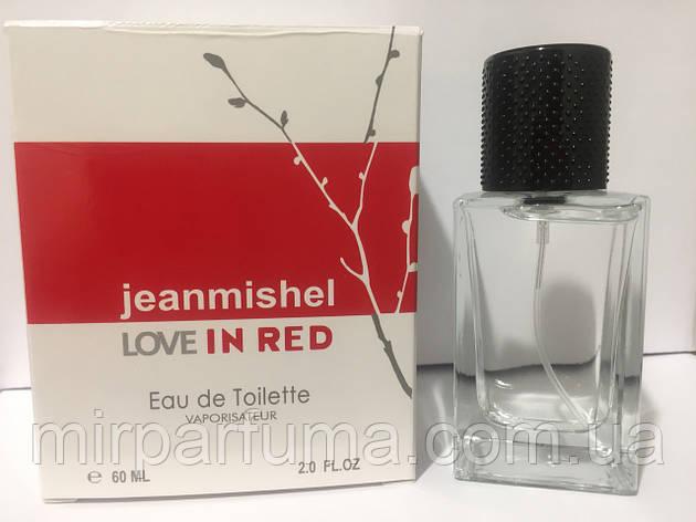 Женский парфюм 60ml jeanmishel Love In Red оптом, фото 2