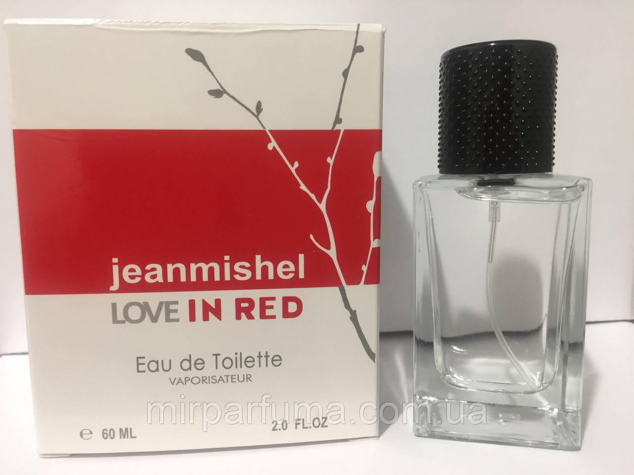 Женский парфюм 60ml jeanmishel Love In Red оптом