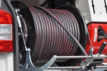 """Шланг для прочистки канализации высоким давлением, тип """"Профессиональный"""" 60 м. ½ ''"""