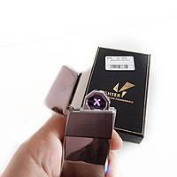 Электроимпульсная USB Зажигалка (Двойная молния) Lighter HL-5, фото 1