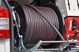 """Шланг для прочищення каналізації високим тиском, тип """"Професійний"""" 80 м.½"""""""