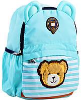 Рюкзак детский j100, 32*24*14.5, голубой, фото 1