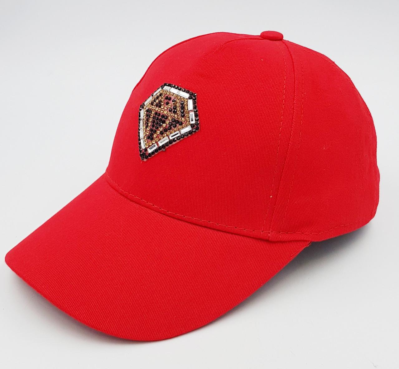 Женская бейсболка Klaus Рубин  Коттон Красный One size -Демисезон (035-К)