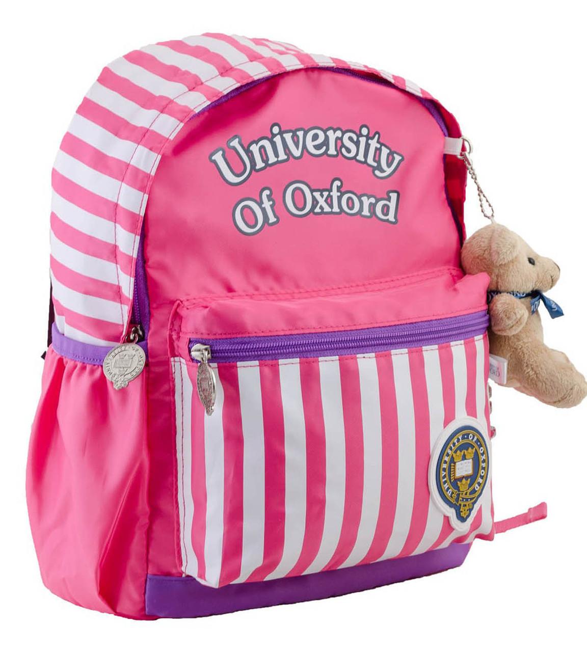 Рюкзак детский OX-17, розовый, 24.5*32*14
