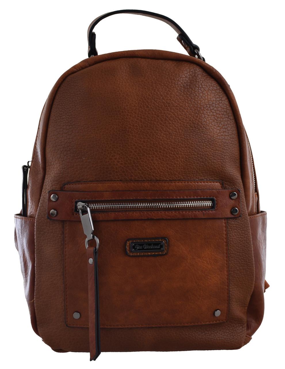 Рюкзак женский YW-14, рыжий