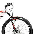 """Горный велосипед Kinetic Storm 27.5 дюймов 17"""" белый, фото 2"""