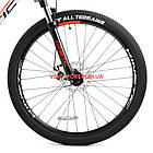 """Горный велосипед Kinetic Storm 27.5 дюймов 17"""" белый, фото 3"""