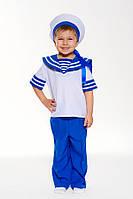 Детский карнавальный костюм Моряк праздничный, рост 104-122 см
