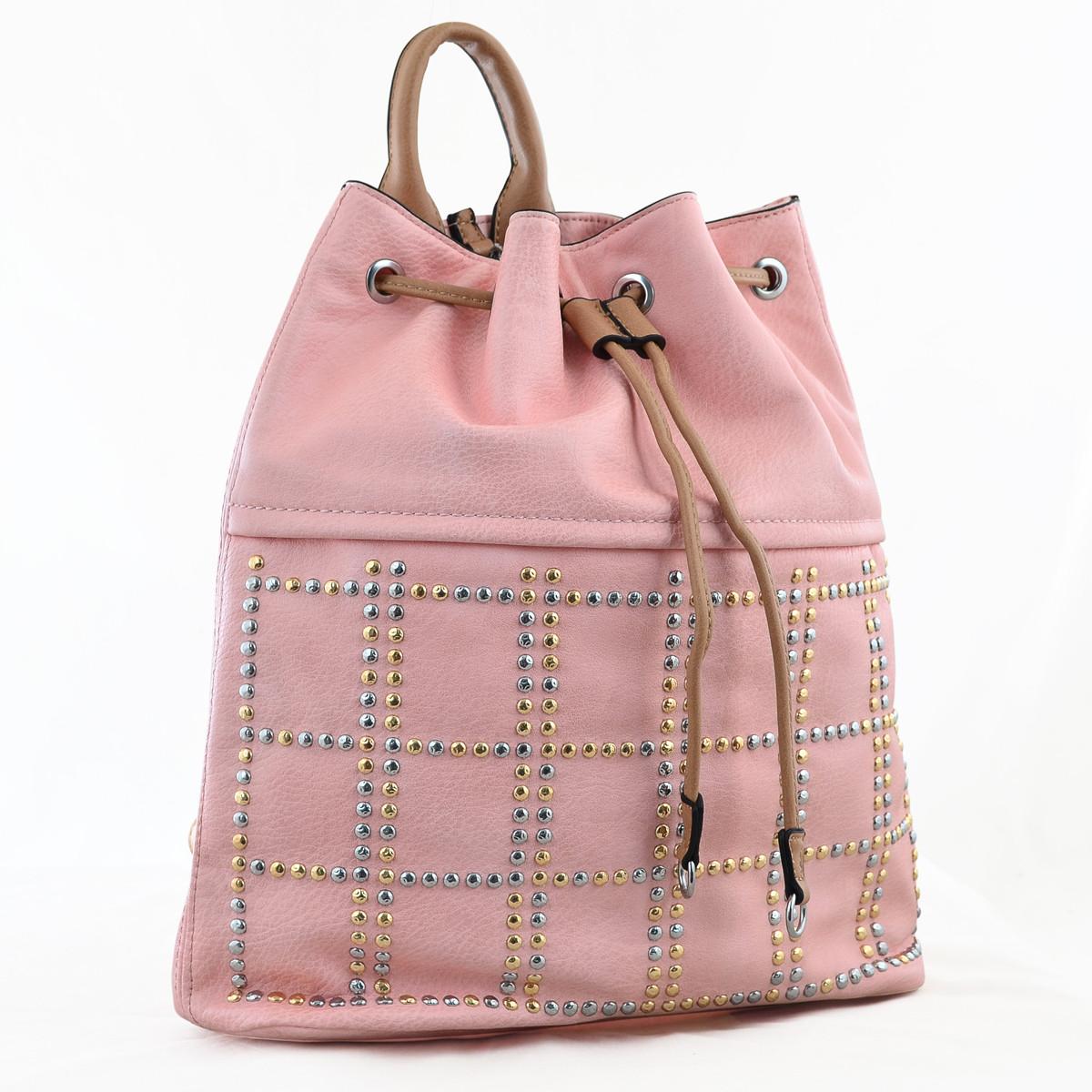 Рюкзак молодёжный YW-26, 29*35*12, розовый