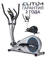 Еліптичний тренажер для дому MX1000 silver. Електромагнітний, до 120 кг, фото 1