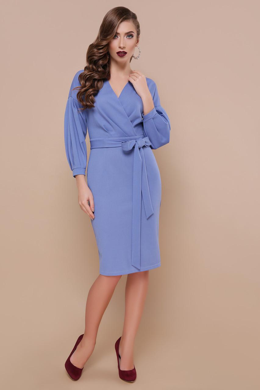 Офісна сукня з креп-дайвінгу