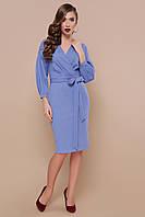 Офісна сукня з креп-дайвінгу, фото 1