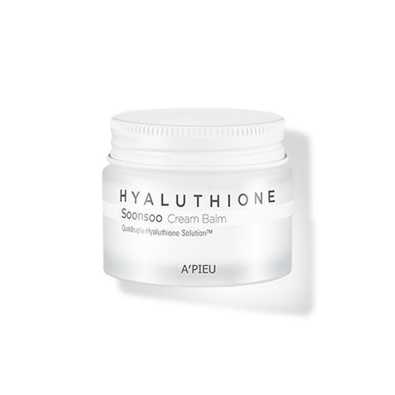 Глубокоувлажняющий Крем-бальзам для лица A'PIEU Hyaluthione Soonsoo Cream Balm, востанавлюющий, оригинал