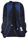 Рюкзак молодежный OX 282, 45*30.5*15, темно-синий, фото 4