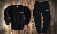 Мужской весенний спортивный костюм, чоловічий костюм The North Face (черный), Реплика
