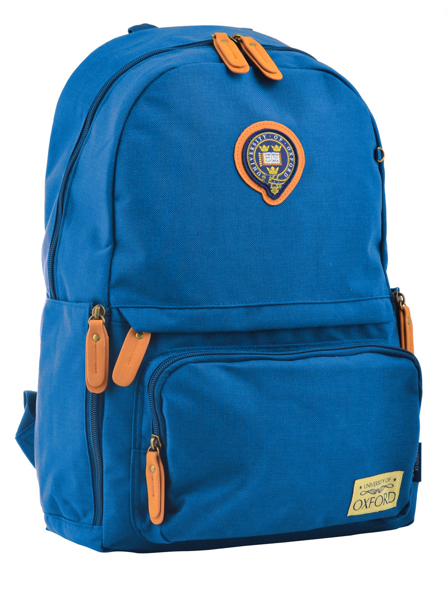 Рюкзак молодежный OX 342, 45*29*14, синий
