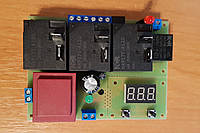 Цифровой высокоточный двухпороговый универсальный терморегулятор для блок-ТЭНов 18 Квт