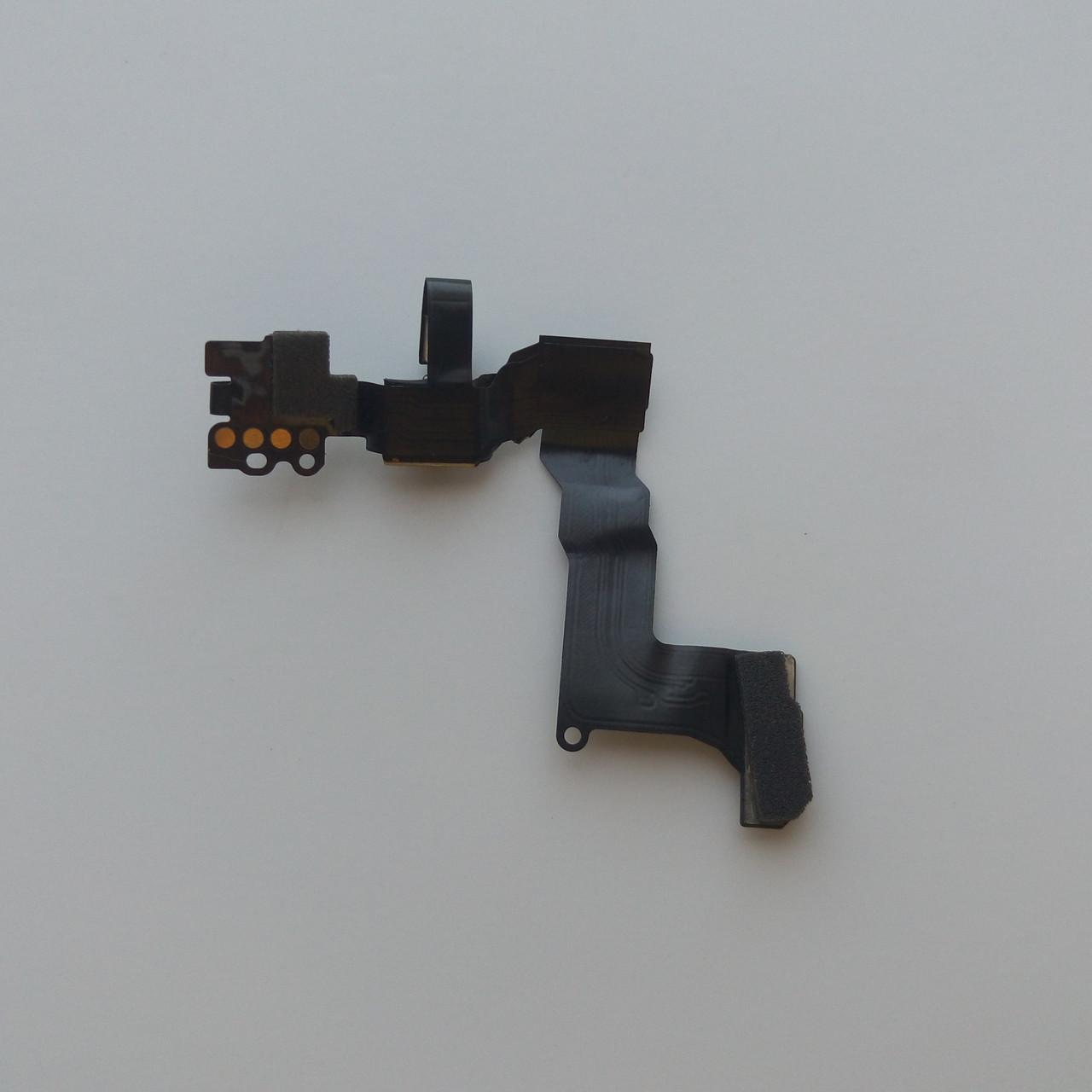 Шлейф Apple iPhone 5S, подсветки дисплея, с камерой, с компонентами, с микрофоном