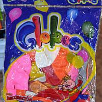 """Кульки повітряні """"Globos"""" середні 100шт (1/1)"""
