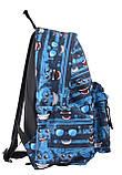 Рюкзак молодежный ST-17 Crazy feelings, 42*32*12, фото 2