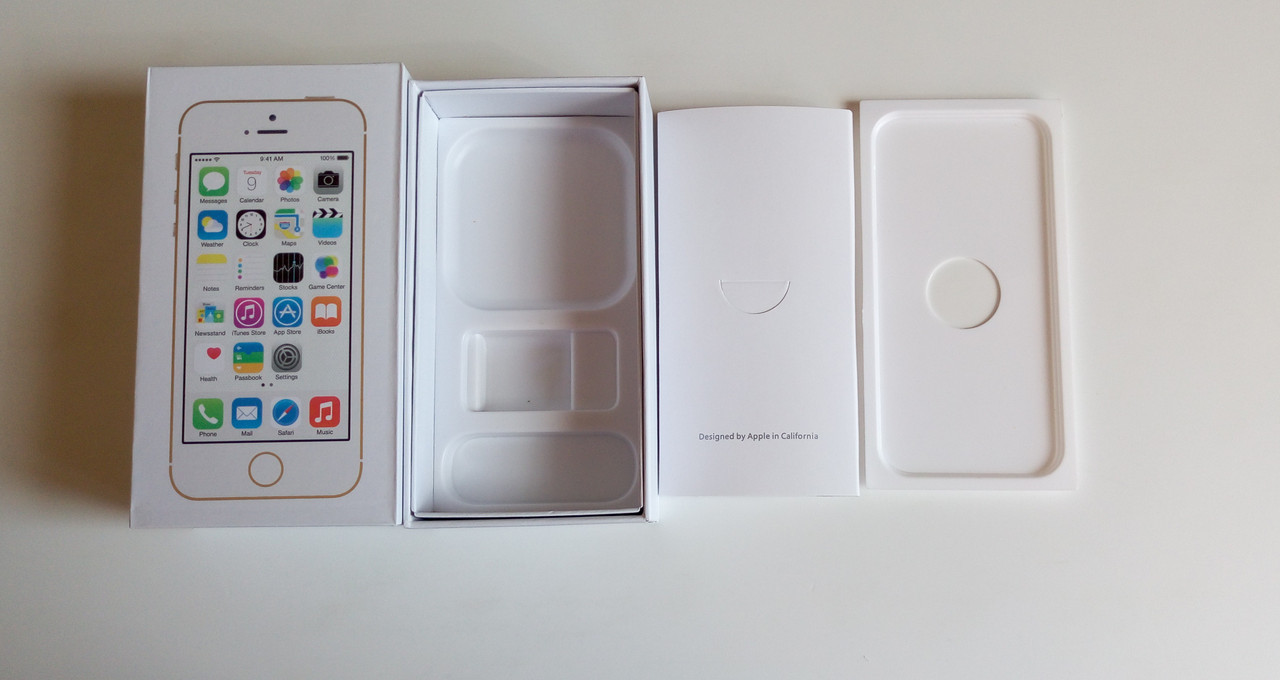 Коробка для Apple iPhone 5S Gold