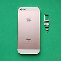 Корпус для Apple iPhone 5 имитация SE Rose