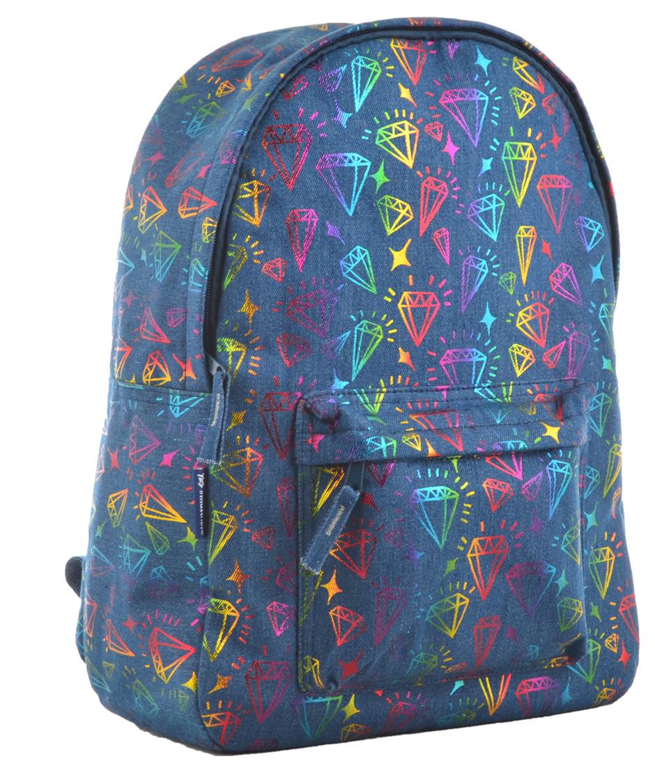 Рюкзак молодежный ST-18 Jeans Diamond, 41*30*13.5