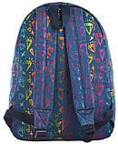 Рюкзак молодежный ST-18 Jeans Diamond, 41*30*13.5, фото 4