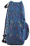 Рюкзак молодежный ST-18 Jeans Meow, 41*30*13.5, фото 2
