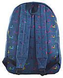 Рюкзак молодежный ST-18 Jeans Meow, 41*30*13.5, фото 4
