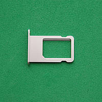 Держатель sim-карты для Apple iPhone 6S silver
