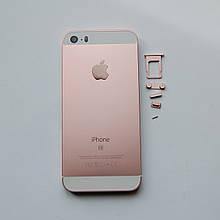 Корпус Novacel для Apple iPhone SE Rose Gold