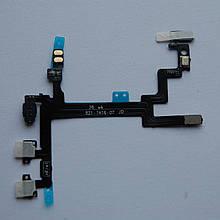 Шлейф Novacel для Apple iPhone 5 кнопок звука кнопки включения с компонентами