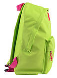 Рюкзак молодежный ST-29 Golden lime, 37*28*11, фото 2