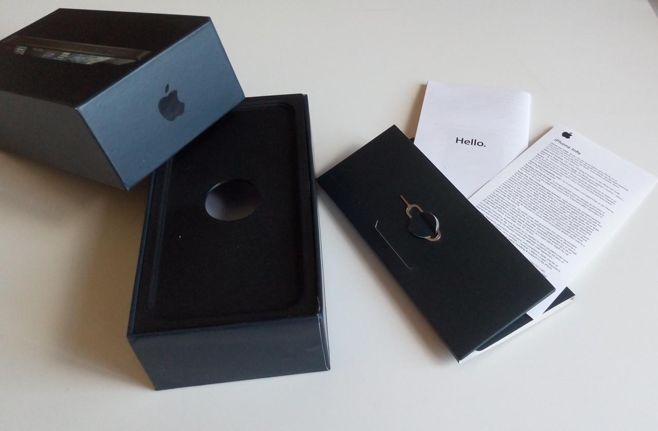 Коробка для Apple iPhone 5 Black