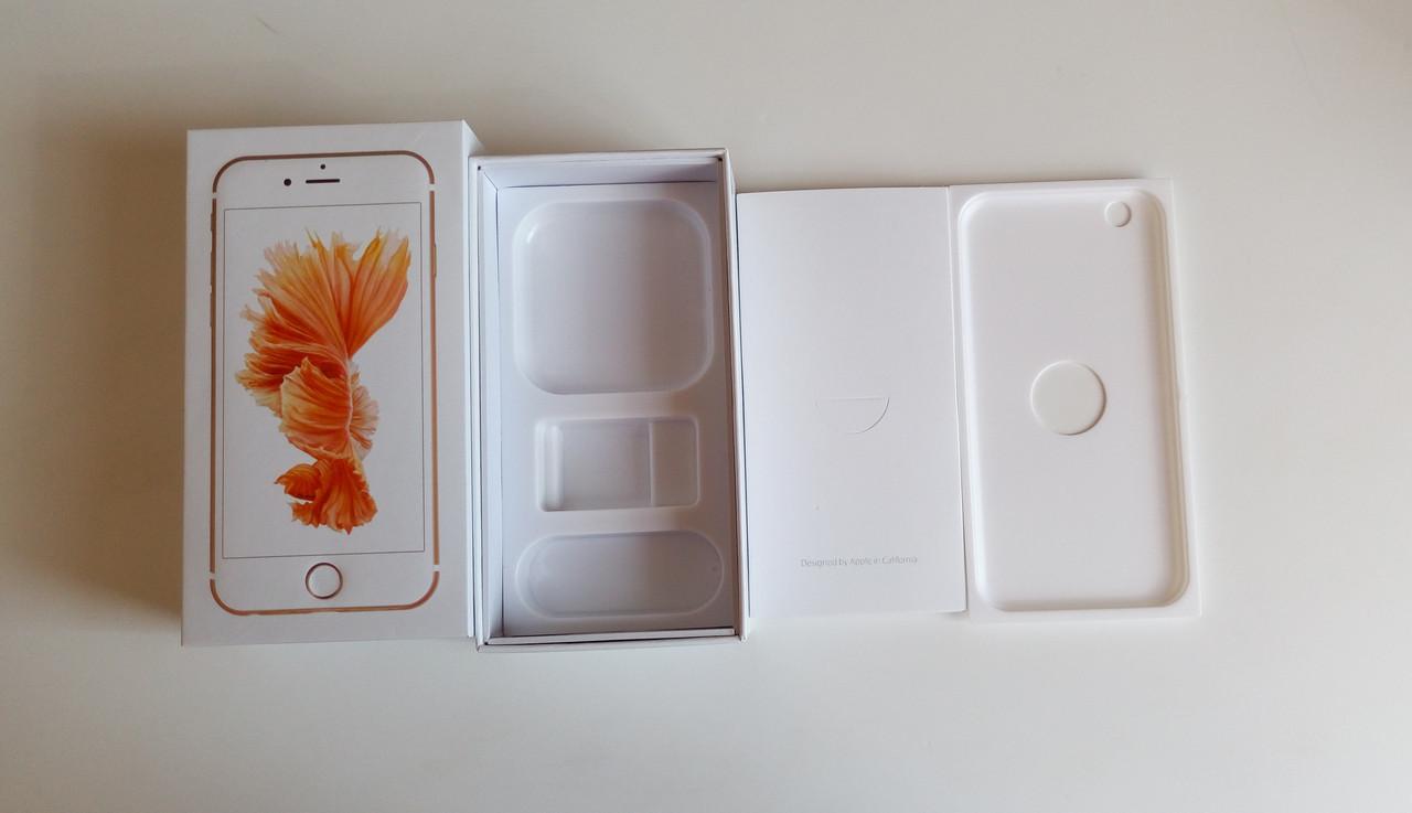 Коробка Apple iPhone 6S Rose