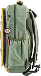 Рюкзак подростковый CA 076, зеленый, 29*43*12, фото 3
